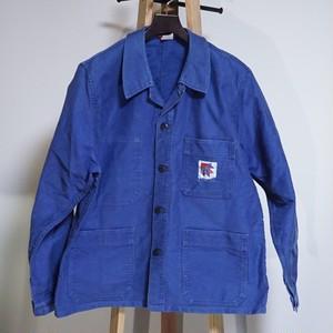 ADOLPHE LAFONT モールスキンワークジャケット 70's France [C678]