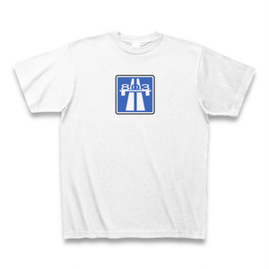 Room Autobahn Studio Logotype2 T-Shirt (White)
