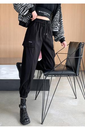 〈リクエストアイテム〉ストリートハイウエストカーゴパンツ 【street high-waist cargo pants】