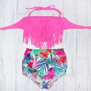 SALE‼︎7500円→4500円 Fringe High Waist Bikini(フリンジハイウエスト水着)