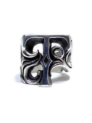 alphabet ring#T (silver925) - アルファベットモチーフ リングT-