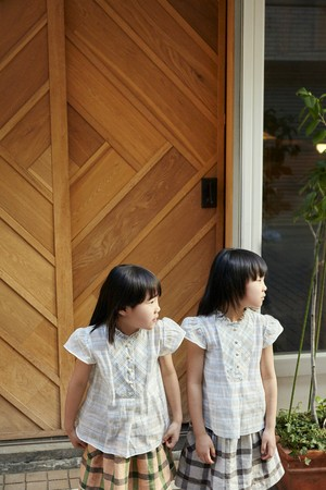 Heart Blouse Kid's Teseo  / Eatable Home