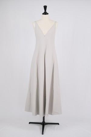 【Eicayoshinari】washi/cotton dress - gray