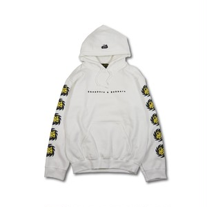 GOODSPEED equipment EVILACT(イーブルアクト) / Splash Logo Hoodie (white)