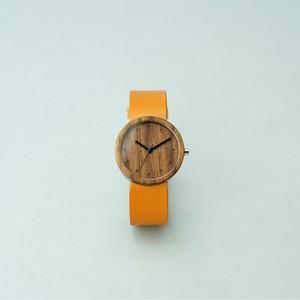 Walnut wood - Camel - M