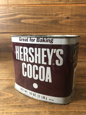 HERSHEY'S COCOA TIN CAN/ハーシーズ ココア 缶 80's ビンテージ