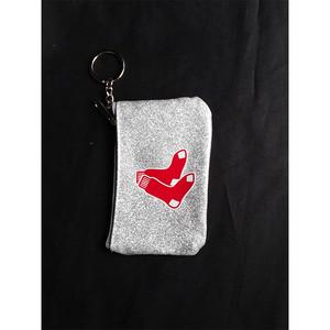 財布 小銭入れ カードケース キーホルダー BOSTON RED SOX MLB 正規品 1372