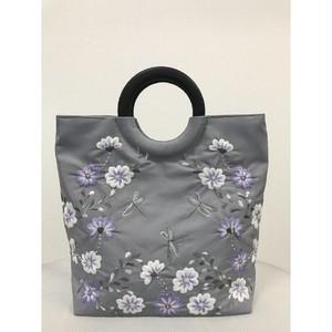 ベトナムバッグ 両面刺繍 ビーズ ハンドバッグ 手提げ 鞄 ベトナム雑貨