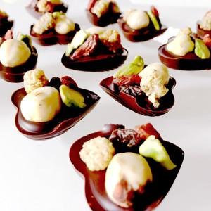 raffy-bon (ラフィボン)2個セット raw chocolate