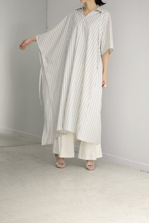 G.V.G.V. / STRIPE ASYMMETRY DRESS