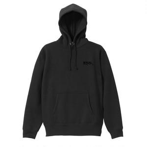 APPLE IS POSER / Pullover Hoodie BLACK