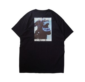 AVALONE AW17 A.D.2048 CRISIS ♀SHORT SLEEVE TEE / BLACK