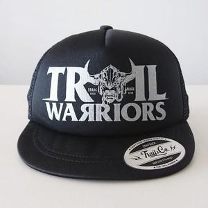 Short Visor Trucker Mesh Cap / TW / Black / Black / Silver
