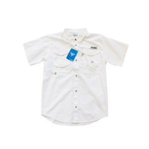 Import / Columbia PFG Bonehead Short Sleeve Shirts / Boys-XL