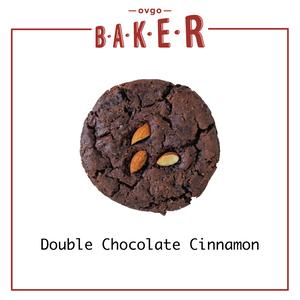 3枚入ダブルチョコレートシナモン (ヴィーガンクッキー)