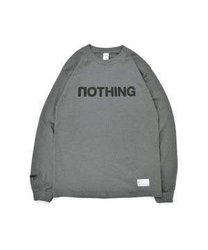 All of L/S Tee (noTHING) / CHARCOAL