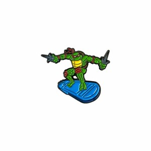 "OTHER WORLD""Turtle Surver V3 lapel pin"""