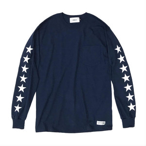 L/S TEE by EVENFLOW ネイビー