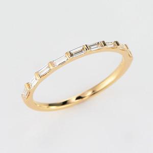 Elegant K18 Diamond Ring (ダイヤモンド リング)