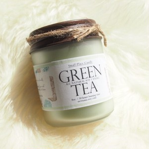Small Place Candle // GREEN TEA