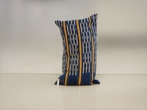 品番UC-009 Cushion [small / African Indigo Batik Tribal] 011