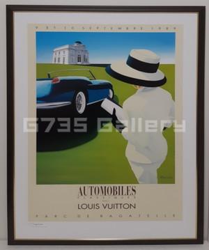 AUTOMOBILES CLASSIQUES AVEC LOUIS VUITTON 1989