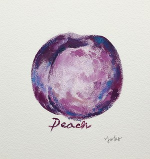 peach-purple