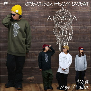 CREWNECK  HEAVY SWEAT ALASCA dreamcatcher as-34