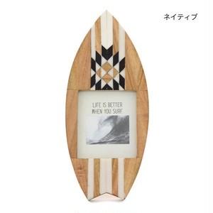 ボーン・サーフボードフォトフレーム[ネイティブ]ハワイアン / 雑貨