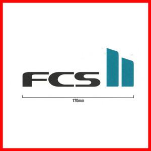 FCS  エフシーエス STICKER LARGE ステッカー