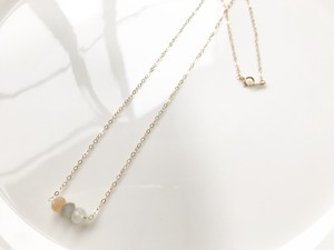 14kgf moonstone necklace