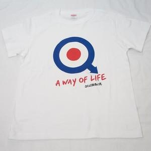 さらば青春の光オフィシャル ターゲットTシャツ WHITE