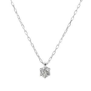 K10WGダイヤモンドネックレス 020201009209