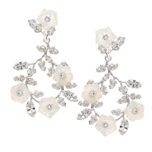 【ElizabethBower】Vine Florum Chandelierイヤリング