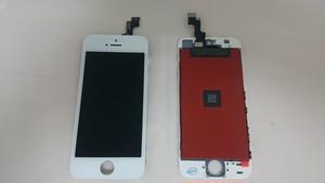 iPhone SE / 5s   (白) 修理用 フロントディスプレイガラス+液晶(LCD)+タッチパネル