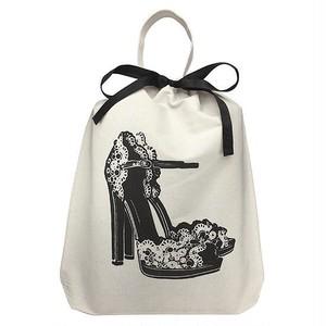 Bag-all バッグオール オーガナイジングバッグ (Floral High Heels)