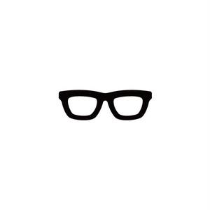 眼鏡 カラー:黒・白 サイズ:H45×W140mm