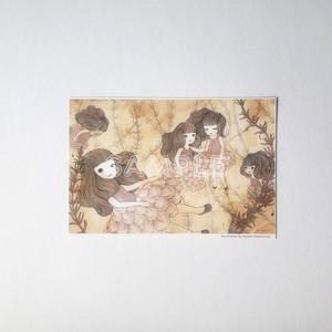 ポストカード「金魚姫」
