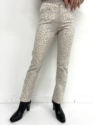 leopard design pants / 2SSPT19-19
