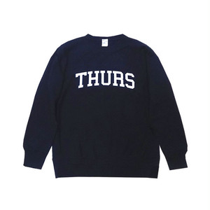 THURSDAY - COLLEGE LOGO CREWNECK (Navy)