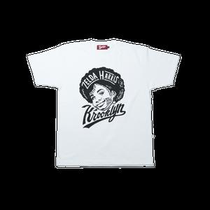 K'rooklyn T-Shirt × 上岡 拓也 - White (ZELDA HARRIS)