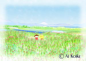 『素敵ですね』 ~グラフィックアートTiki&Puffyシリーズ~ 【清春旅と空想の美術館】
