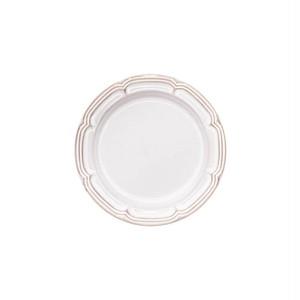 Koyo ラフィネ リムプレート 皿 16cm スモークホワイト 15910108