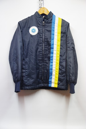 希少サイズ 70's LAKES JACKET Racing Jacket 裏地付き
