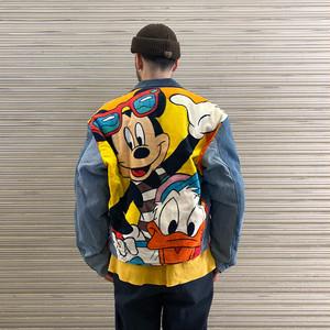 90's MICKEY & CO TOO CUTE Denim Jacket