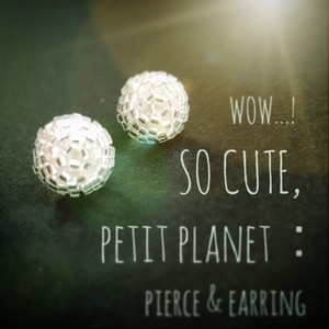 petit planet:pierce & earring