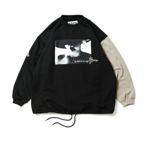TIGHTBOOTH KILLERBONG CYBORG CREW SWEAT BLACK
