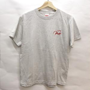 ロゴ刺繍Tシャツ オートミール