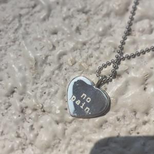 HEART PENDANT SILVER925 #0134