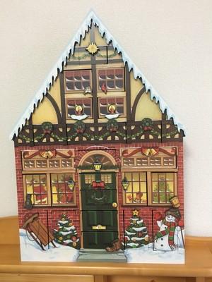 クリスマス アドヴェントカレンダー (ツリーハウス)